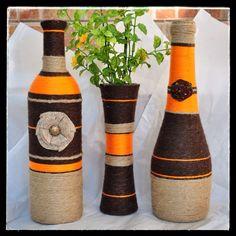 Orange and Brown Set
