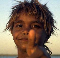 australian-aboriginal child