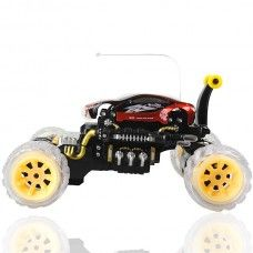 New Arrival Dance to Music R/C 360 Stunt Rolling Circumgyrate Flip Car Model