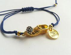 Greek Jewelry Macrame Bracelet Tsarouchi Rustic by DearTatiboo