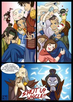 Funny Avatar the Last Airbender with Sokka and Katara
