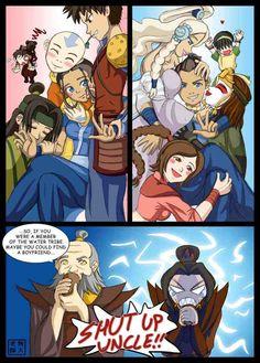 Funny Avatar the Last Airbender with Sokka and Katara
