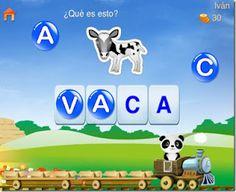 El tren del alfabeto de Lola es un #guappis juego para Android y para iOS, con la que los peques pueden aprender y repasar  de forma divertida el abecedario formando palabras con juegos atractivos y motivadores.