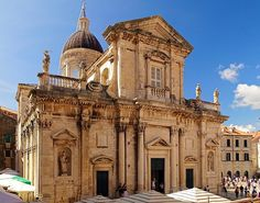 The Cathedral of the Assumption of Mary in Dubrovnik