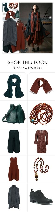 """""""Layers: Get the Langenlook for fall"""" by mcheffer ❤ liked on Polyvore featuring Brooks Brothers, Hermès, RVCA, GRIZAS, Isolde Roth, Kenneth Jay Lane, Sarah Pacini, Blondo, Fall and layers"""