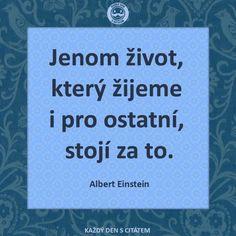 citáty - Jenom život, který žijeme i pro ostatní, john lennon