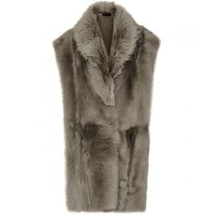 Reiss Lexi Reversible Shearling Gilet