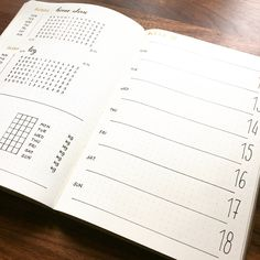 Bullet journal weekly layout, weekly sleep log, weekly exercise tracker. | @mylife.mylove.mypassion
