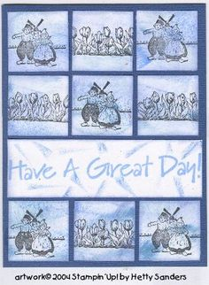 Dutch nice day! Netherlands by Stampin Up