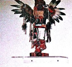 AWESOME KACHINA -- Purchased in the 80s at Santa Fe, N.M.