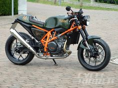 Metisse-KTM CR690 – First Look The Metisse name lives on this very cool KTM 690 Duke from Germany.