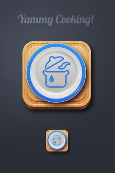 define the pot and lid as pattern and put it in my portfolio. Launcher Icon, Food Illustrations, App Icon, Behance, Cooking, Tableware, Pattern, Inspiration, Icons