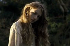 Teresa Oman Hits the Outdoors for Natalie Cottees C Heads Magazine Shoot