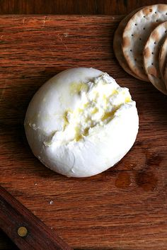 burrata drizzled with truffle oil & sprinkled with sea salt...so good!