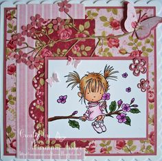 LOTV - Blossom with Always and Forever paper pad by Marianne Fisher