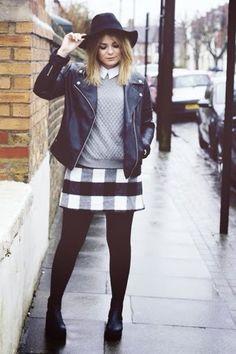 Gingham skirt style - LIly Melrose
