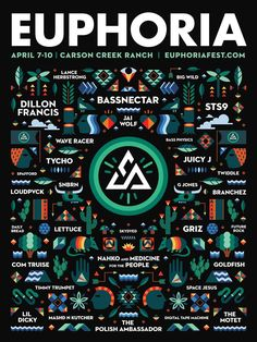 More news from Texas -- Euphoria Festival adds more artists! Euphoria Fest  #euphoria16