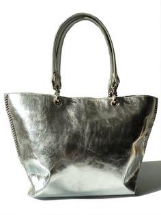 Gamidi 2 Handbag Metallic Leather from IMPERIO jp