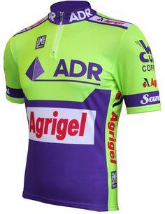 ADR/Agrigel 1989 Retro Team Jersey - Short Sleeve