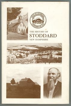 History Stoddard New Hampshire book