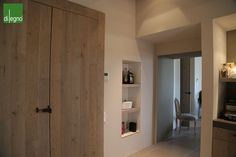 Aged wood used wardrobes - Designed by Di Legno