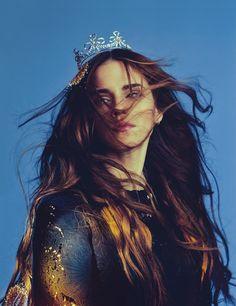 Emma Watson  for Wonderland Magazine by Christian Oita