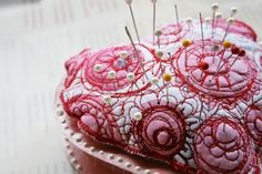 Valentine pincushion by alisaburke: Altered Candy Box Tutorial -