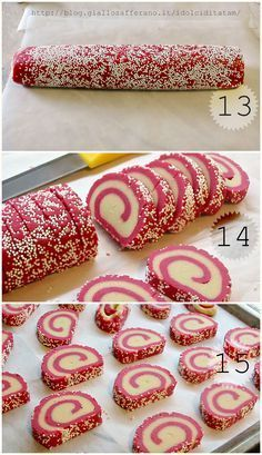 More and More Pin: Cake and Oreo Italian Cookies, Italian Desserts, Christmas Sweets, Christmas Cooking, Biscuits, Biscotti Cookies, Torte Cake, Xmas Cookies, Love Eat