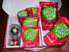 I have received this product complimentary for testing purposes from Influenster. My favorite picture of fruit vines bites!