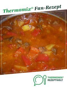 Gulaschsuppe von HelgaCzapka. Ein Thermomix ® Rezept aus der Kategorie Hauptgerichte mit Fleisch auf www.rezeptwelt.de, der Thermomix ® Community.