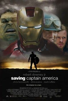 #Avengers Movie Mash-up Posters: Saving Captain America