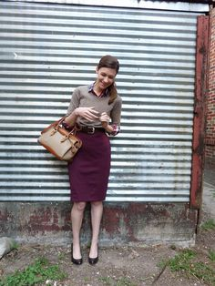 This feel so accessible, neutral or pattern on top, beautiful deep plum/red on the bottom.
