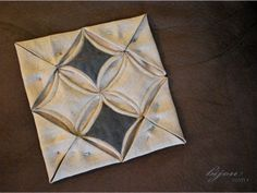 Sewing tutorial – Cathedral window quilt