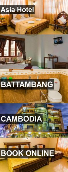 Hotel Asia Hotel in Battambang, Cambodia. For more information, photos, reviews and best prices please follow the link. #Cambodia #Battambang #AsiaHotel #hotel #travel #vacation