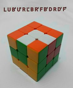 Patrones RUBIK 3x3, figura N.11 por WL Rubik 3x3