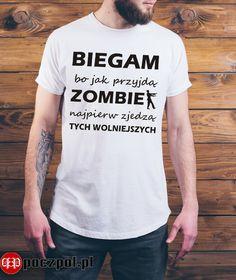 Good Sentences, Poland, Folk, Humor, Sayings, Funny, Clothing, Mens Tops, T Shirt