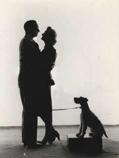William Powell and Myrna Loy. I'd like to think they were secretly married, but alas they probably weren't.
