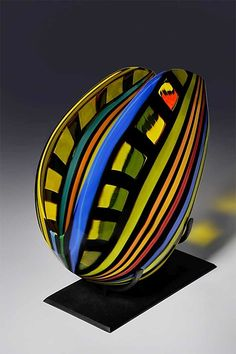 Fissure by Helen Rudy: Art Glass Sculpture available at www.artfulhome.com