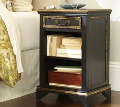 Essex Bedside Table #potterybarn MB RENO maybe