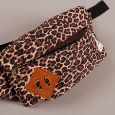 <3 Drifter Classic Hip Sack - Leopard