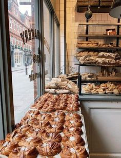 PS - can not wait for the NYC location to open. Bakery Shop Design, Coffee Shop Design, Cafe Design, Bakery Decor, Bakery Interior, Bakery Store, Bakery Cafe, Bakery London, Cute Bakery