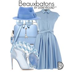 Disney Bound - Beauxbatons (not disney but SUPER cute)