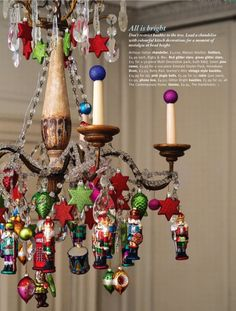 Next Christmas this is definitely happening! What a great idea to display favorite ornaments!