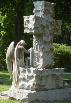 Calvary Cemetery - Lincoln, NE. -  Celestial Reflections Photography