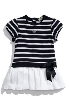 adorable armani nautical-inspired dress
