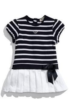 adorable armani nautical-inspired dress