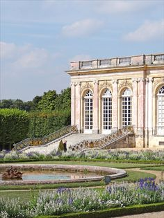 Le Grand Trianon, Versailles, France--I actually prefer this location to the palace.  So peaceful.