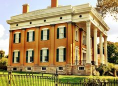 Lanier Mansion in Madison, Indiana