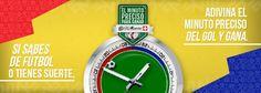 Adivina el minuto preciso para ganar   Sitio Web Oficial de Relojes D´Mario - Colombia, Ecuador y Panamá Mario, Ecuador, Omega Watch, Ideas, Name Generator, Names For Companies, Fortune Teller, Totes, Clocks
