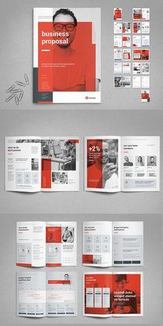 Proposal Vol. Company Brochure Design, Company Profile Design, Graphic Design Brochure, Booklet Design, Brochure Layout, Branding Design, Design Portfolio Layout, Book Design Layout, Magazine Ideas
